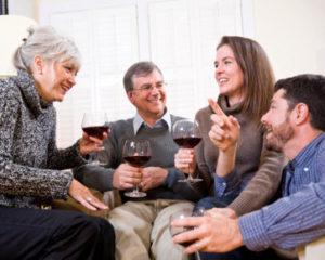 hubungan yang baik dengan orang tua pasangan