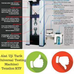Alat Uji Tarik (Universal Testing Machine) Tensilon RTF