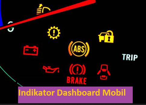 indikator lampu pada dashboard mobil